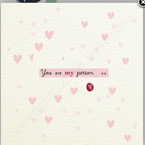 Geordie Cards - you are my person