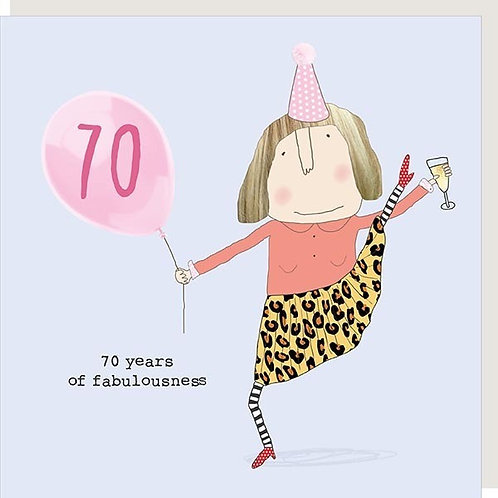 Rosie Made A Thing - Female 70th