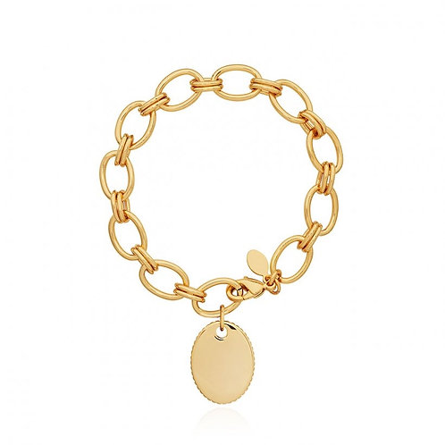 Joma Jewellery Kali Gold Link Bracelet