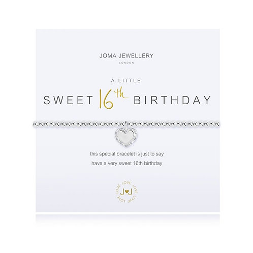 Joma Jewellery 'A little...Sweet 16th Birthday'