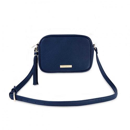 Katie Loxton Sophia Tassel Crossbody Bag- Navy
