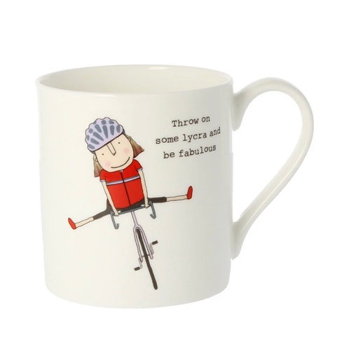 Rosie Made a Thing-'Throw on Some Lycra and be Fabulous' Mug