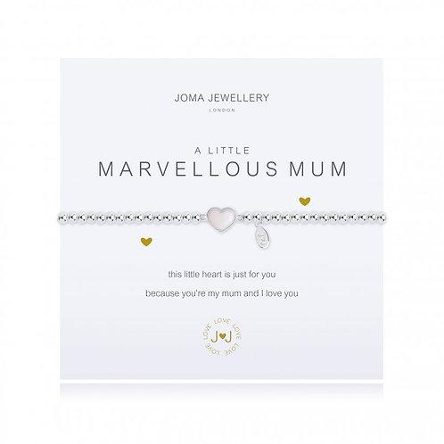 Joma Jewellery- 'a little...Marvellous Mum' Bracelet
