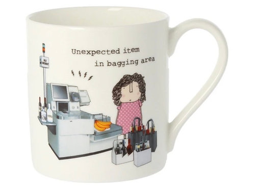 Rosie Made a Thing- 'Unexplained Item' Mug