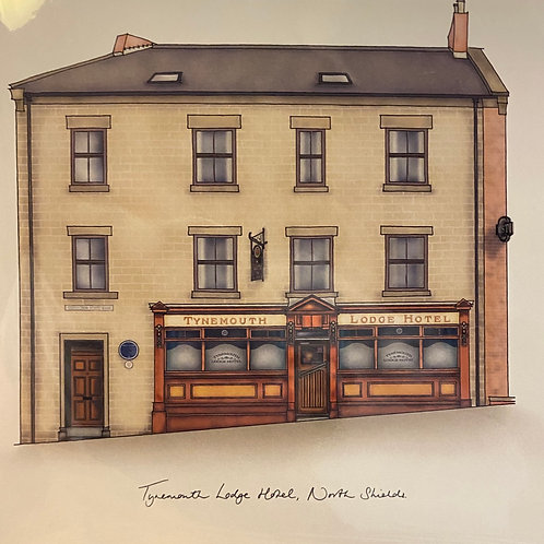 Streetdoodler - Tynemouth Lodge Hotel