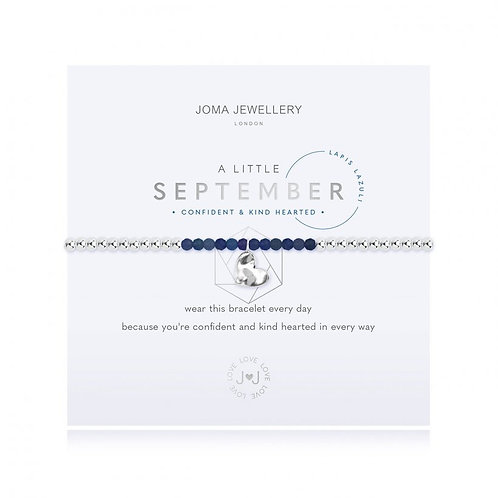 Joma Jewellery September-'a little' Birthstone- Lapis
