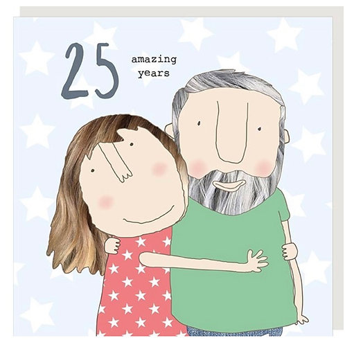 Rosie Made A Thing - 25th Wedding Anniversary