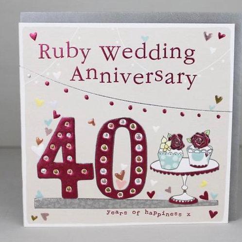 Molly Mae - 40th Wedding Anniversary