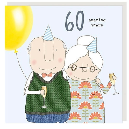 Rosie Made A Thing - 60th Wedding Anniversary