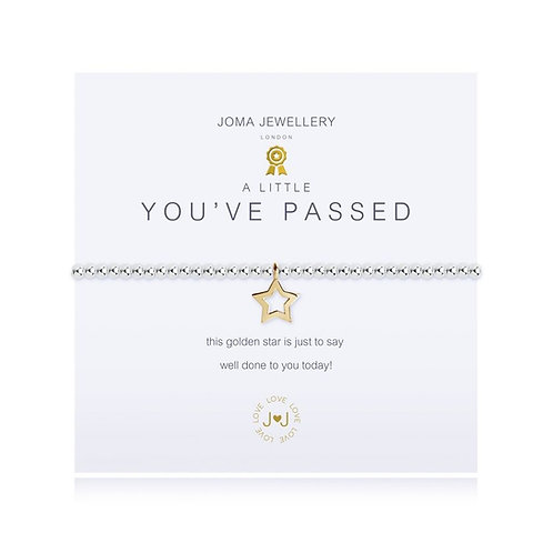 Joma Jewellery 'A little... You've Passed'