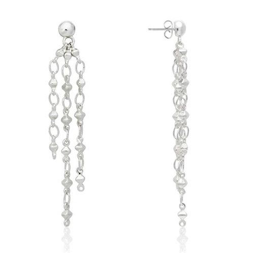 Joma Jewellery Riva Multi Chain Earrings