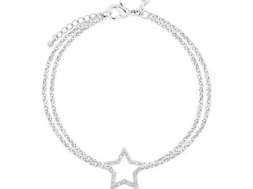 Joma Jewellery Leyla Silver Star Bracelet