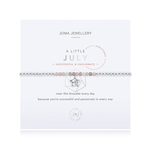 Joma Jewellery July-'a little'Birthstone- Sunstone
