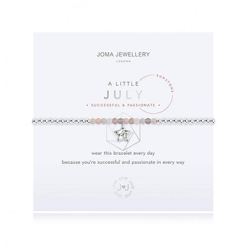 Joma Jewellery July-'a little'Birthstone- Sunstone