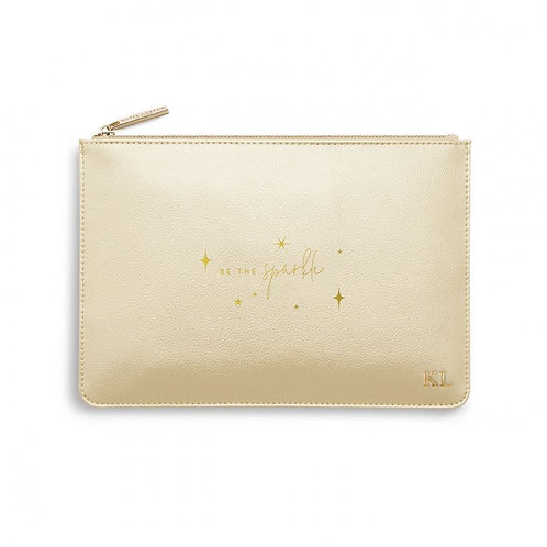 Be the Sparkle-Katie Loxton Perfect Pouch-Gold