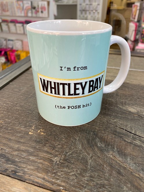 The POSH Bit Mug-Whitley Bay