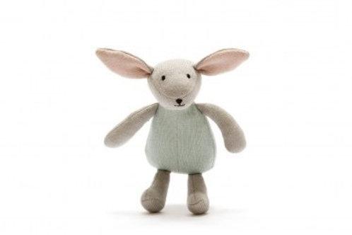 Organic Cotton Bunny- Teal