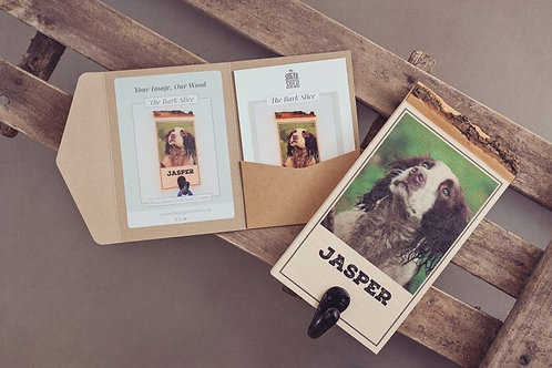 The Bark Slice Personalised Dog Lead Holder-Gift Voucher
