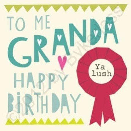 Geordie Cards - Granda
