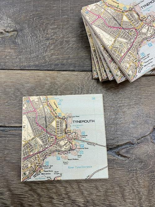 Individual Tynemouth Coaster