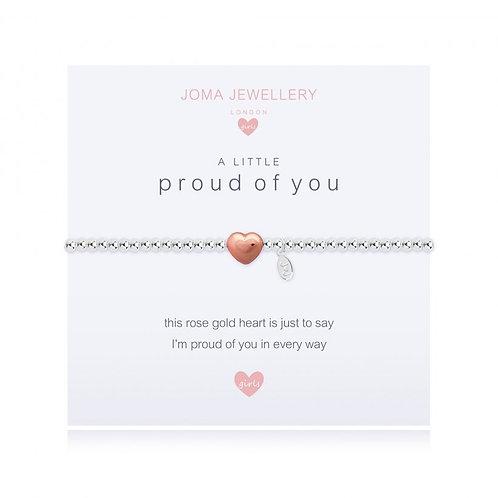 Joma Jewellery -'a little...Proud of You' Girls Bracelet