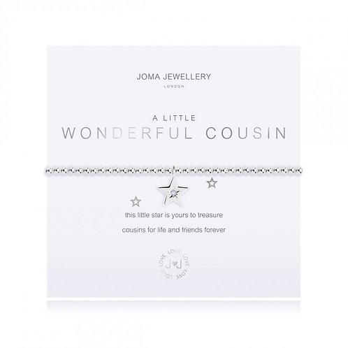 Joma Jewellery 'a little... Wonderful Cousin' Bracelet