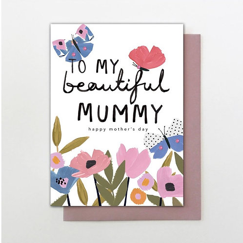 Stop The Clock Design - Mother's Day - Beautiful Mummy