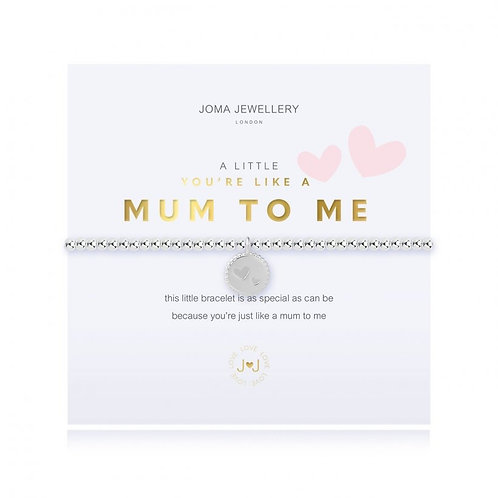 Joma Jewellery- 'a little... You're Like a Mum to Me' Bracelet