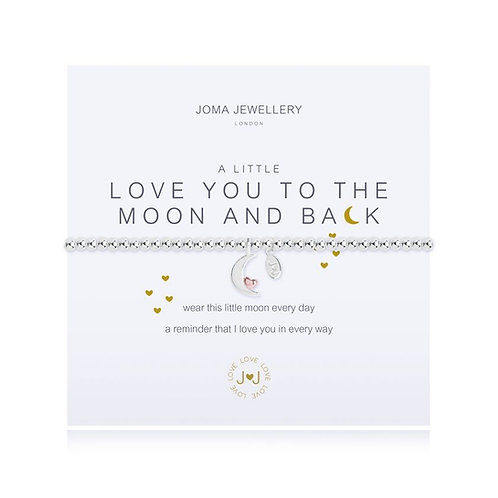 Joma Jewellery 'A little...Love You to the Moon and Back