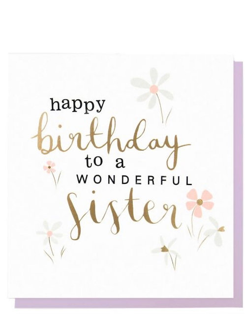 Caroline Gardner - Sister Birthday