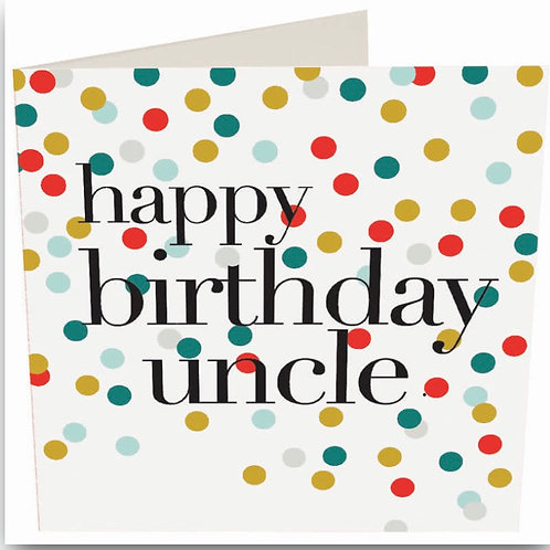 Caroline Gardner - Birthday Uncle