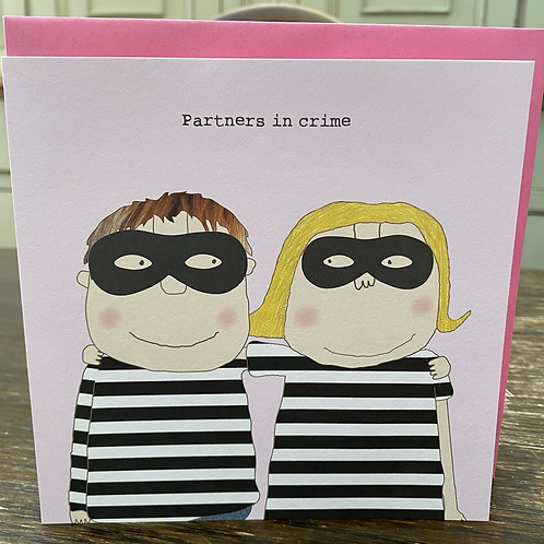 Rosie Made A Thing - partners in crime