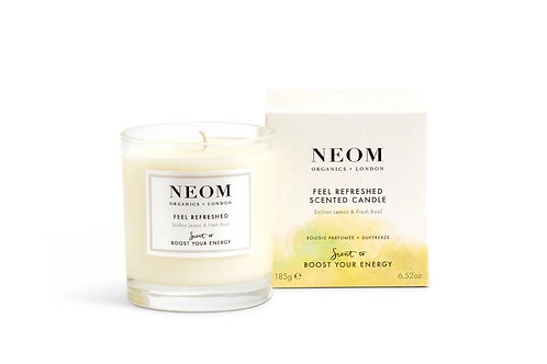 Neom Feel Refreshed Scented Candle- 1-wick