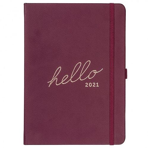 Busy B Family 2021 Diary - Berry