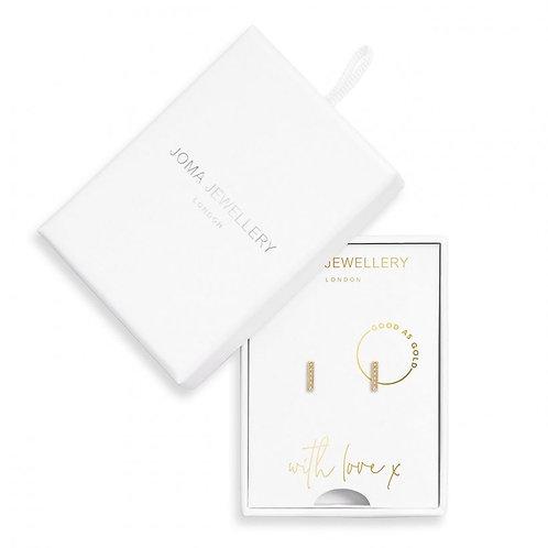 Treasure the Little Things-Good as Gold Earrings- Joma Jewellery