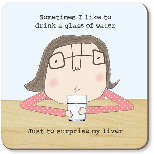 Rosie Made a Thing-'Surprise Liver' Coaster