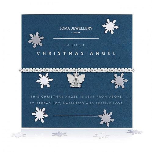 A Little Christmas Angel Bracelet-Snow Globe