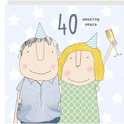 Rosie Made A Thing - 40th Wedding Anniversary