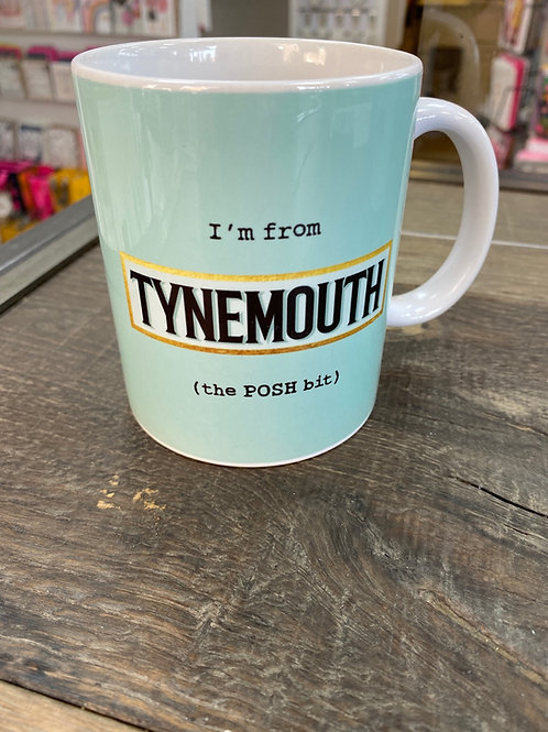 The POSH Bit Mug- Tynemouth
