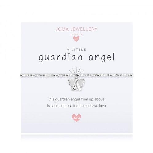 Joma Jewellery 'a little.....' Girl's Bracelet-Guardian Angel