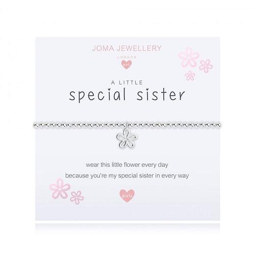 Joma Jewellery-'a little... Special Sister' Girls Bracelet