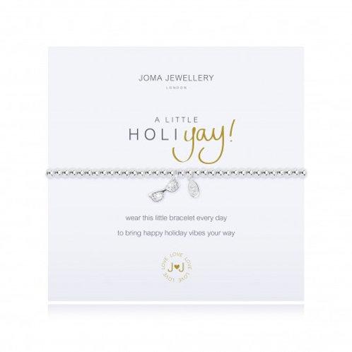 Joma Jewellery 'A little...' Adult Bracelet - Holiyay!