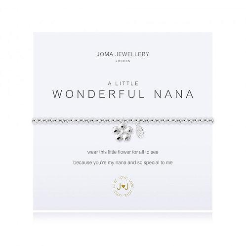 Joma Jewellery-'a little...Wonderful Nana' Bracelet