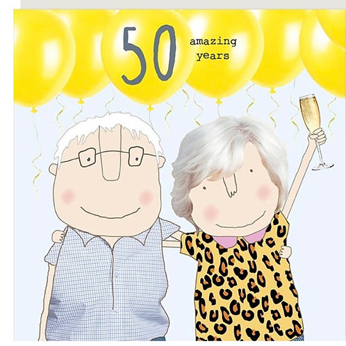 Rosie Made A Thing - 50 th Wedding Anniversary