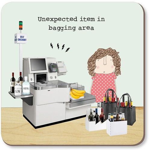 Rosie Made a Thing- 'Unexpected Item' Coaster