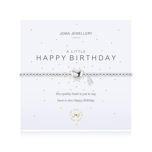 Joma Jewellery 'A little...Happy Birthday'