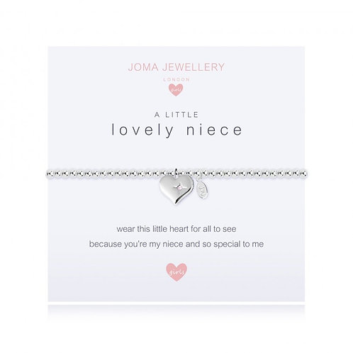 Joma Jewellery-'a little... Lovely Niece' Girls Bracelet