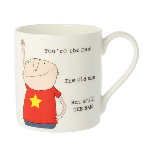 Rosie Made a Thing - 'You're the Man' Mug