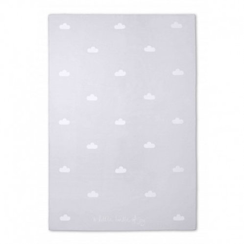 Katie Loxton Baby Blanket- 'Little Bundle of Joy' Pale Grey