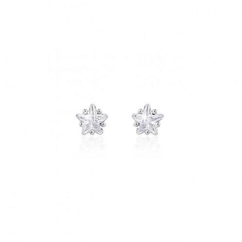 Joma Jewellery Astra Star Crystal Stud Earrings